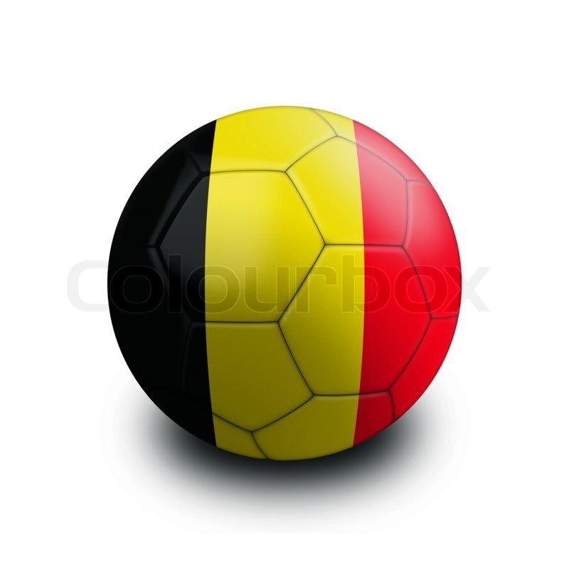 sports soccer ball flag belgium