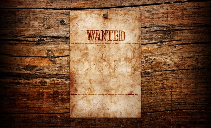 Wanted Hintergrund : Stockfoto : Colourbox