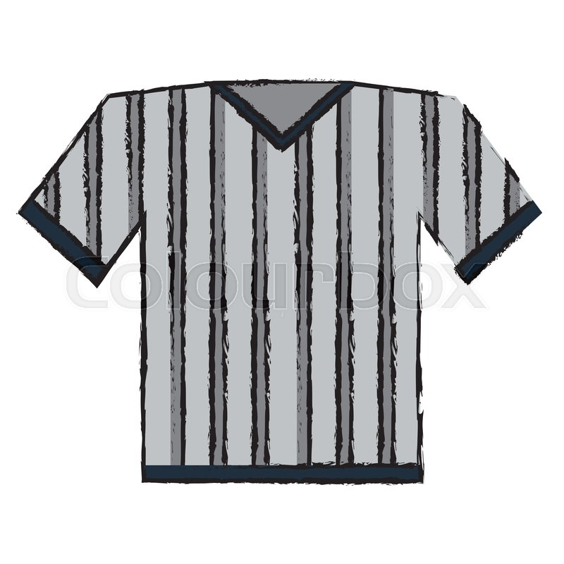 f6c31a3d0 Drawing jersey referee american ...