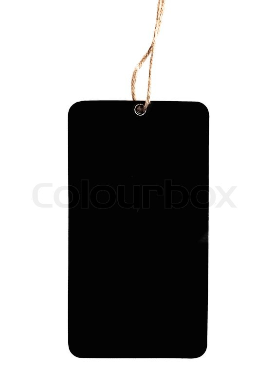Stock image of 'Blank price tags'