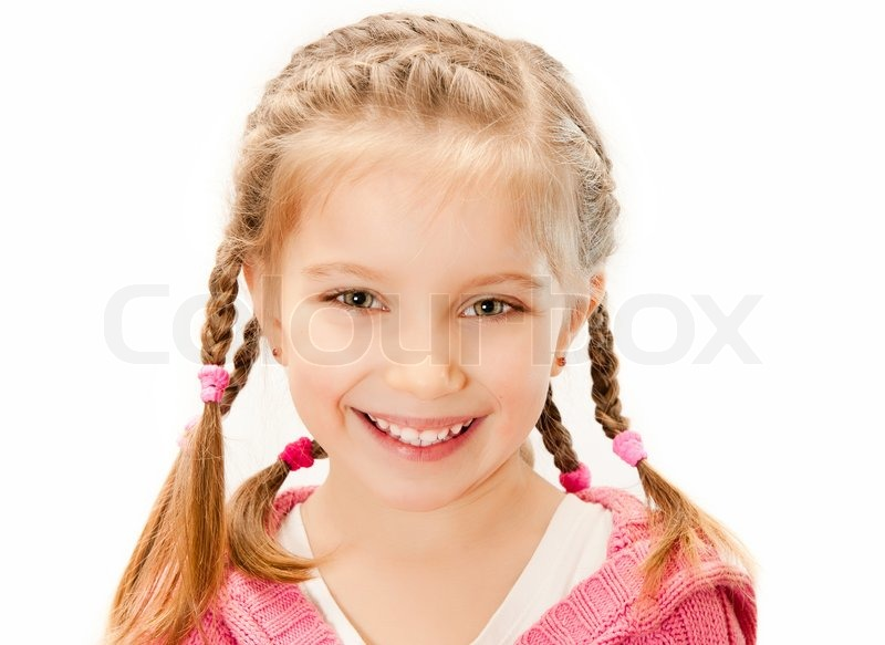 Stock image of cute little girl