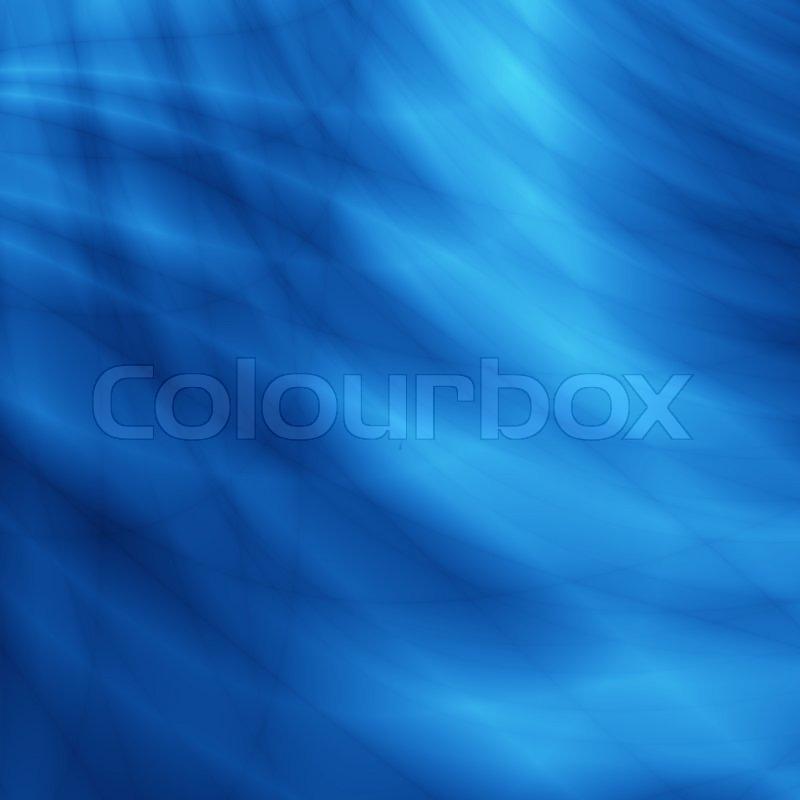 Wasser Blaue Tapete Stockfoto Colourbox