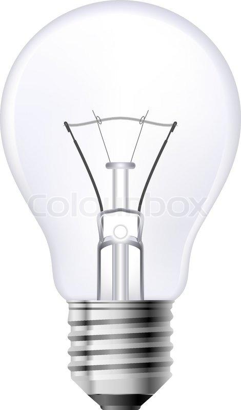 Filament Lamp, Vector