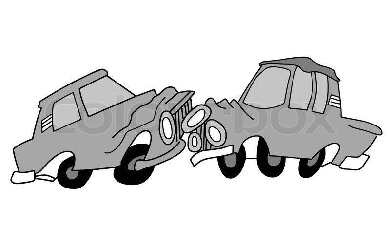 Zeichnen der Autos auf weißem Hintergrund , Vektor-Illustration ...