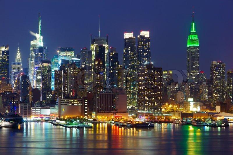 Queensboro Bridge New York City midtown ...