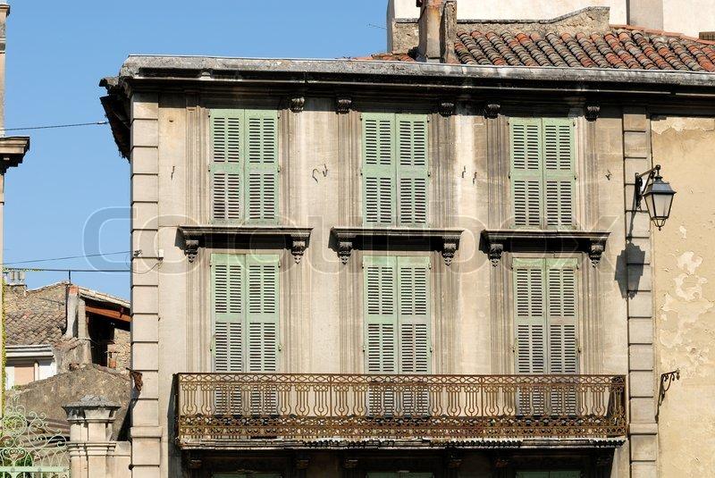 House in salon de provence france stock photo colourbox for Garage api salon de provence
