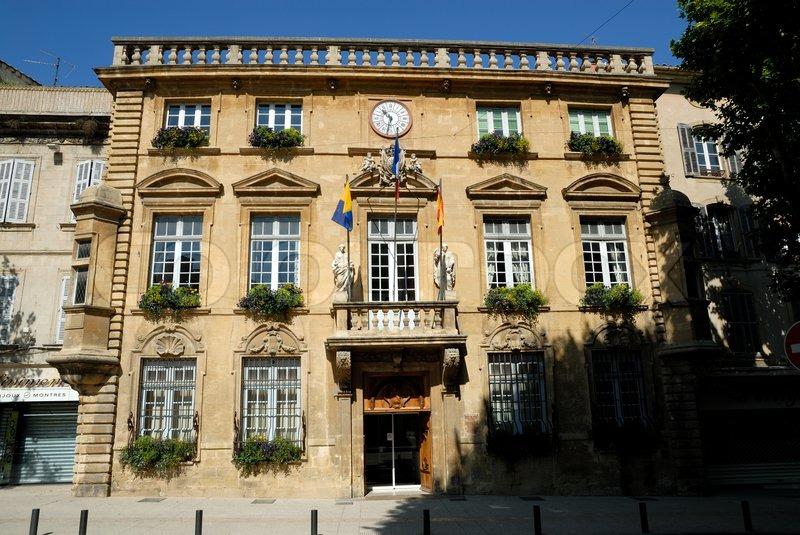 Hotel de ville town hall in salon de provence france for Ville de salon de provence