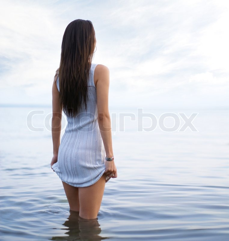 Young Sexy Lady In The Water  Stock Photo  Colourbox-3732