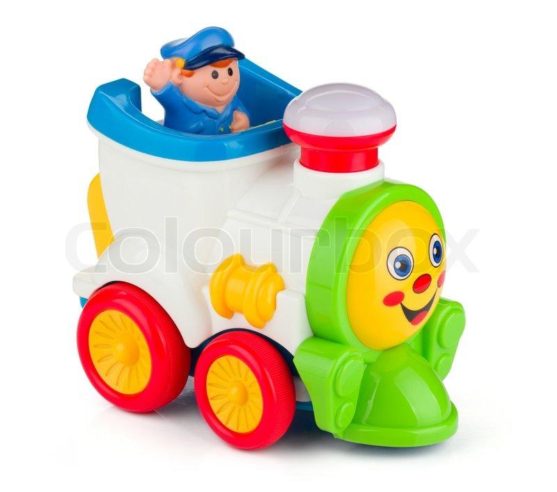Train Baby Toy Stock Photo Colourbox