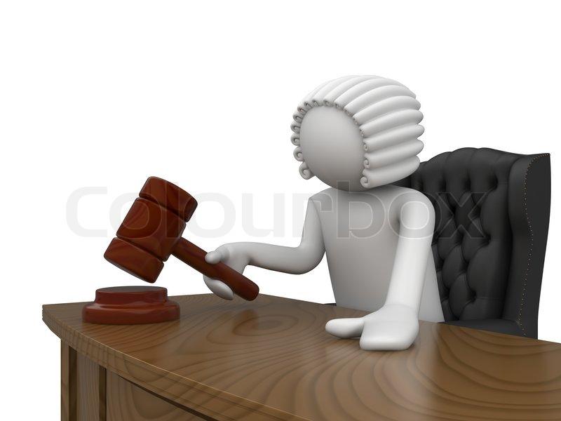 Mr Judge Stock Photo Colourbox