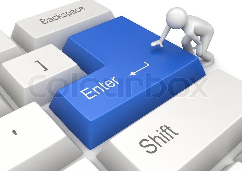 enter key clipart - photo #35