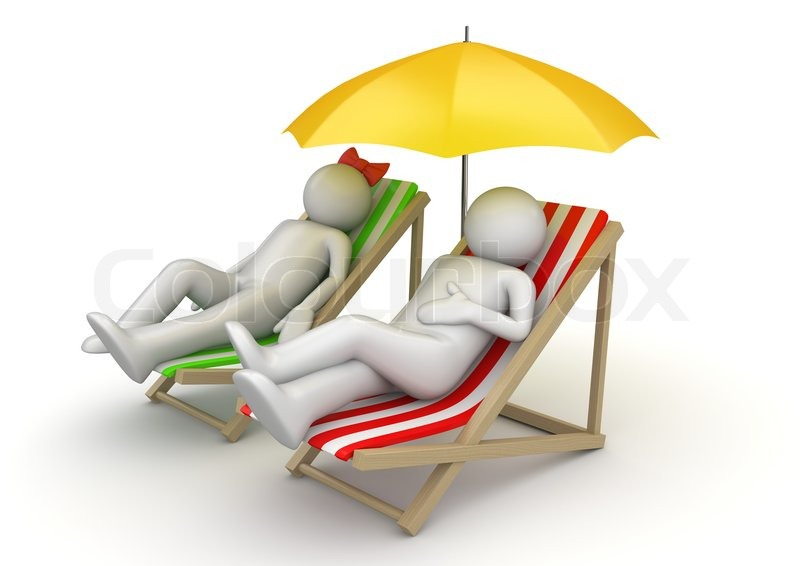 Couple On Vacation Travel Collection Stock Photo