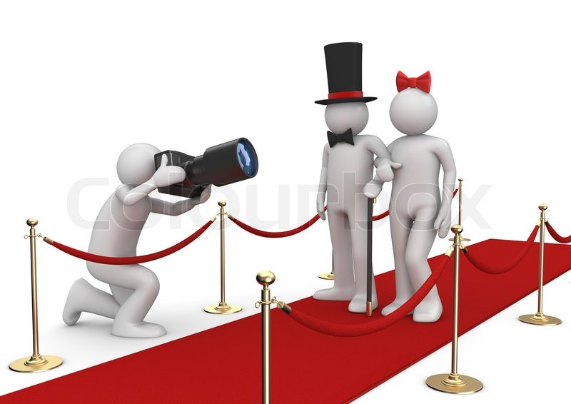 Celebrities On Red Carpet Lifestyle Stock Image Colourbox