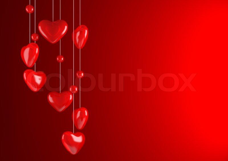 red valentine background stock photo colourbox. Black Bedroom Furniture Sets. Home Design Ideas