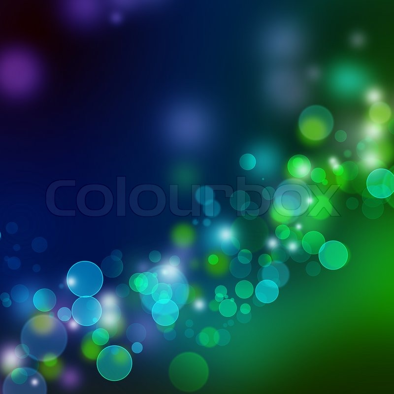 Light Blue And Green Background Blue Green Lights Background