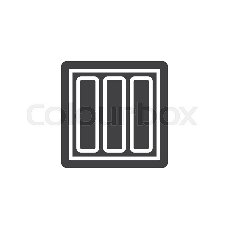 Power switch vector icon  filled flat     | Stock vector