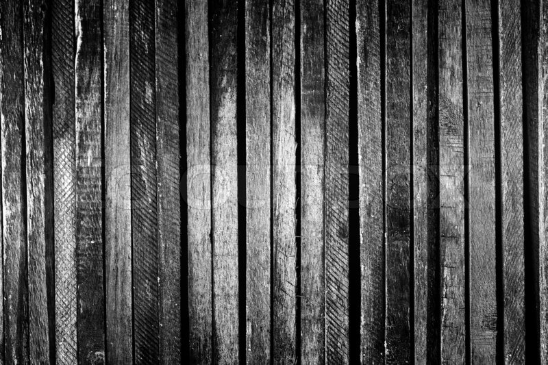 Dark Wood Vintage Or Grunge Background Stock Photo