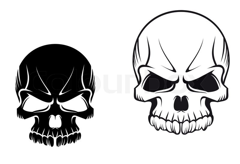 Skulls Tattoos Stock Photo Colourbox