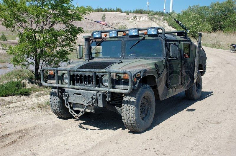 US military vehicle Hummer H1 | Stock Photo | Colourbox