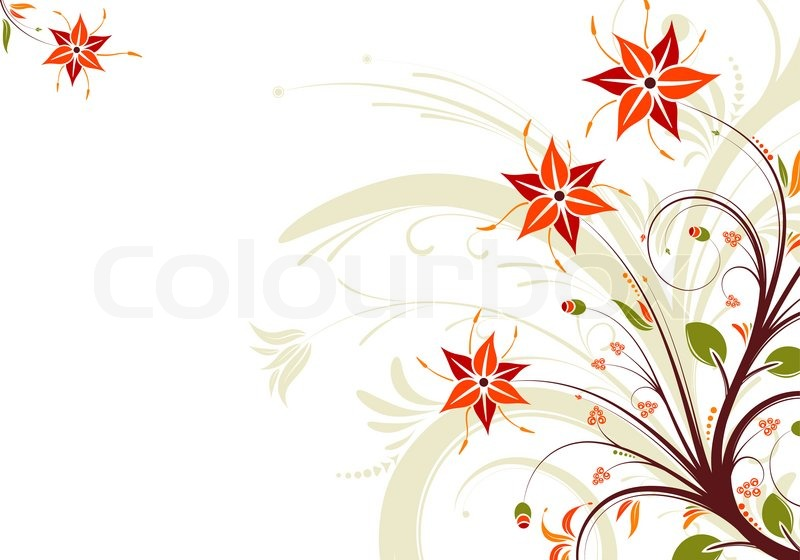 Stock image of 'Floral background'