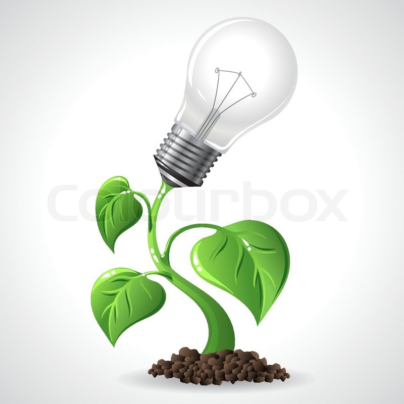 Stock vector of 'Green Energy Concept Vector Illustration'