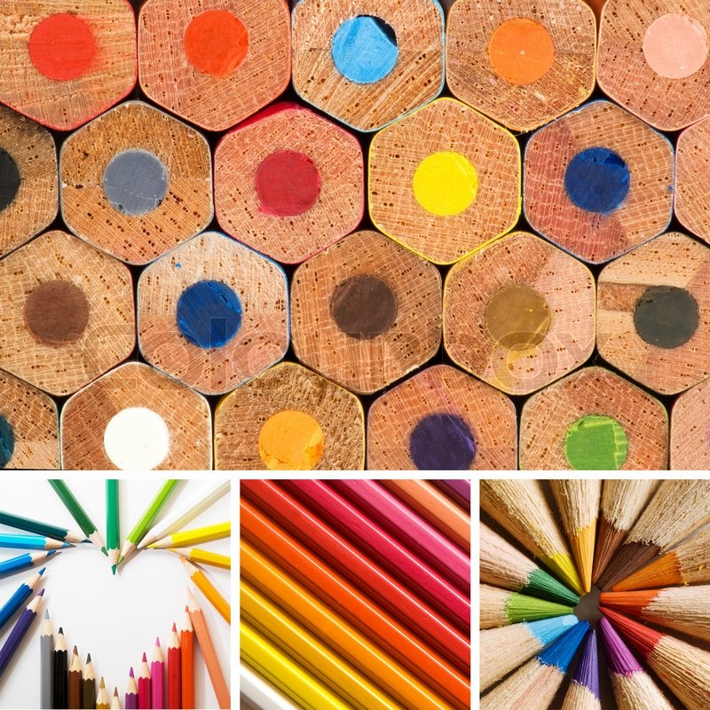 Stock image of 'Pencils'