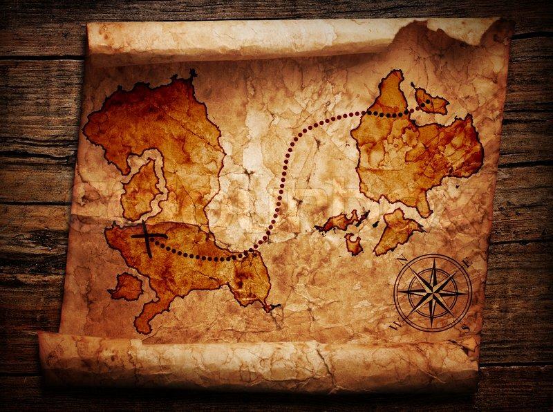 old treasure map stock photo colourbox