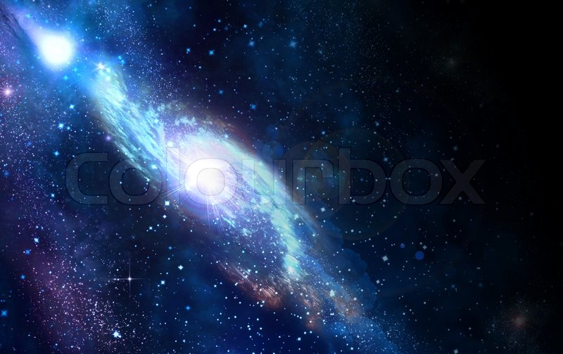 spiral galaxy stock photo colourbox
