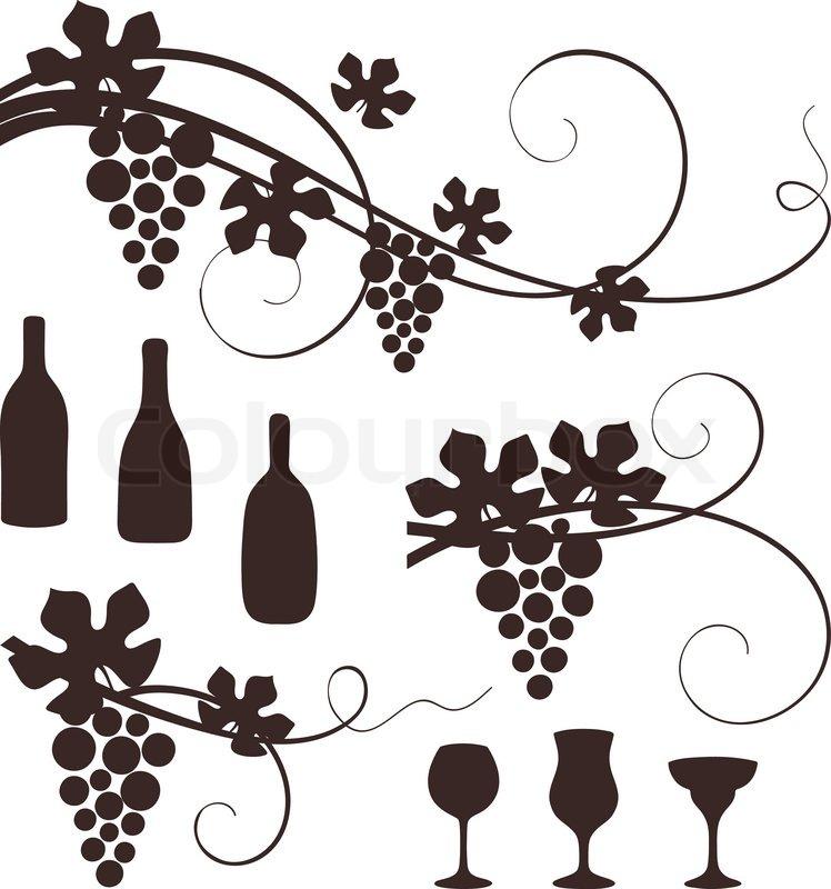 Western Design Elements Grape Design Elements