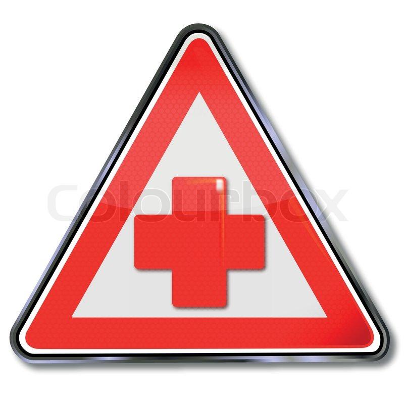 Verkehrsschilder Kreuz