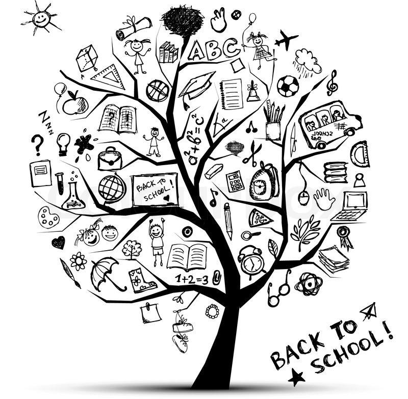 baum der erkenntnis   konzept der schule f u00fcr ihr design