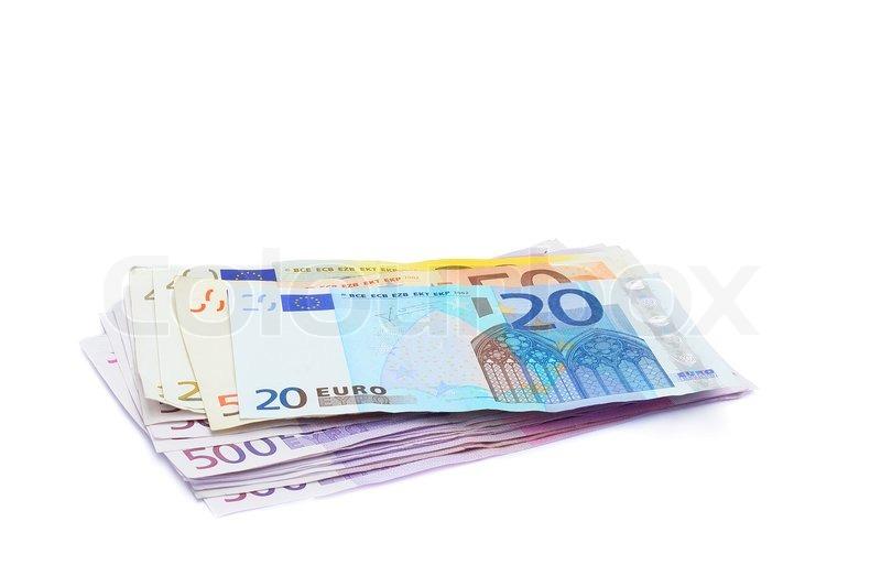 Euro penge   stock foto   Colourbox
