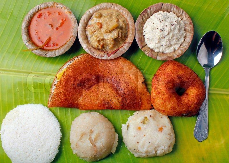 Masala Dosa Idly Vada Chutney Upma And Sambar Image 3690282 on My Lunch Plate