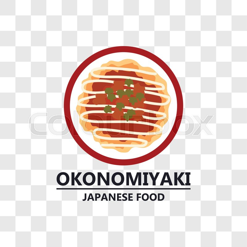 Okonomiyaki japanese food icon     | Stock vector | Colourbox