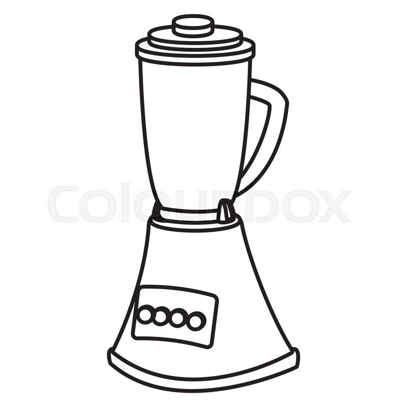Blender kitchen appliance icon vector     | Stock vector
