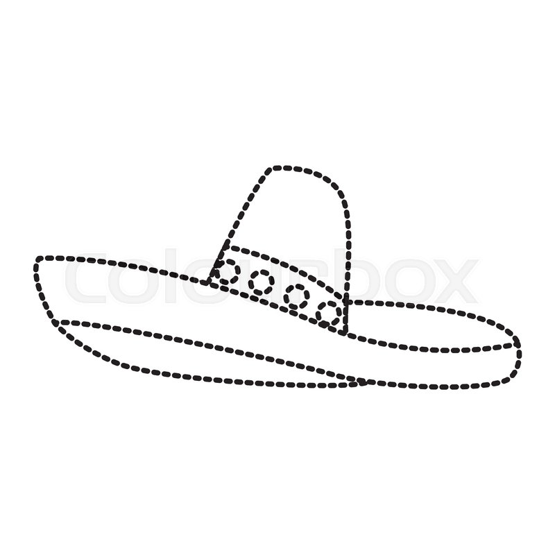 Mexican Sombrero Hat with Moustache | Mexican sombrero hat, Mexico tattoo,  Mexican tattoo