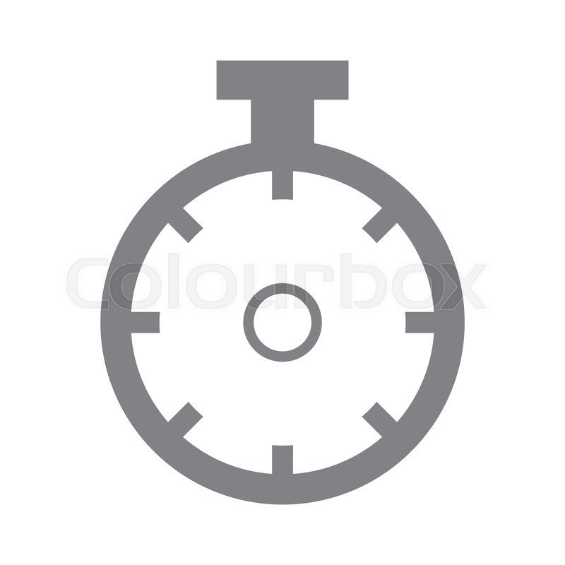 Sportwatch time timer chronometer     | Stock vector | Colourbox