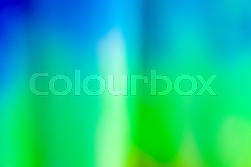 Blue, green and turquoise vivid abstract background, bright blurred shades of colors, stock photo
