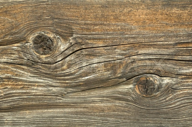 Old Knotted Wood Background Texture Stock Photo Colourbox