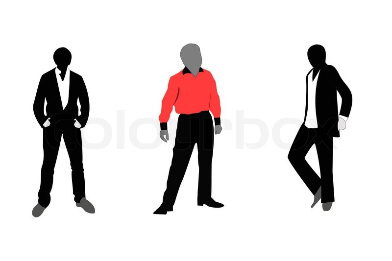 men s fashion stock vector colourbox rh colourbox com Male Icon Vector Vector Guy