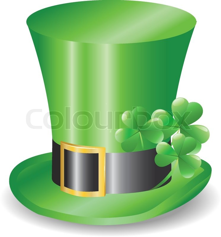 Irish hat replicon with three clover trefoils stock for Irish mail cart plans