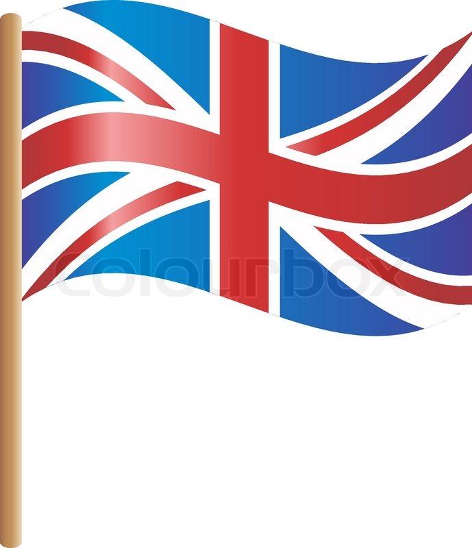 Flag England Stock Vector Colourbox - Flag of england