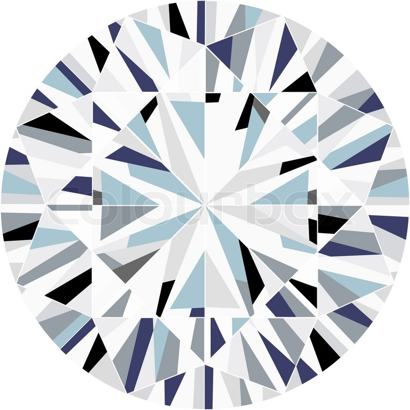 diamond stock vector colourbox rh colourbox com diamond vector free diamond vector font generator