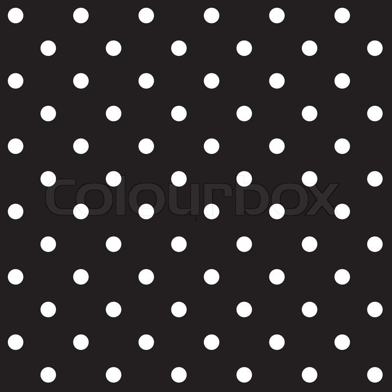 Stock vector of 'Seamless Polka dot background'