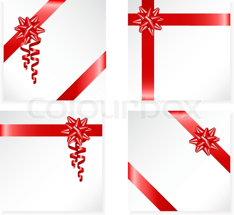 Gift Ribbon Vector Free Download Gift Red Ribbon And Bow Vector