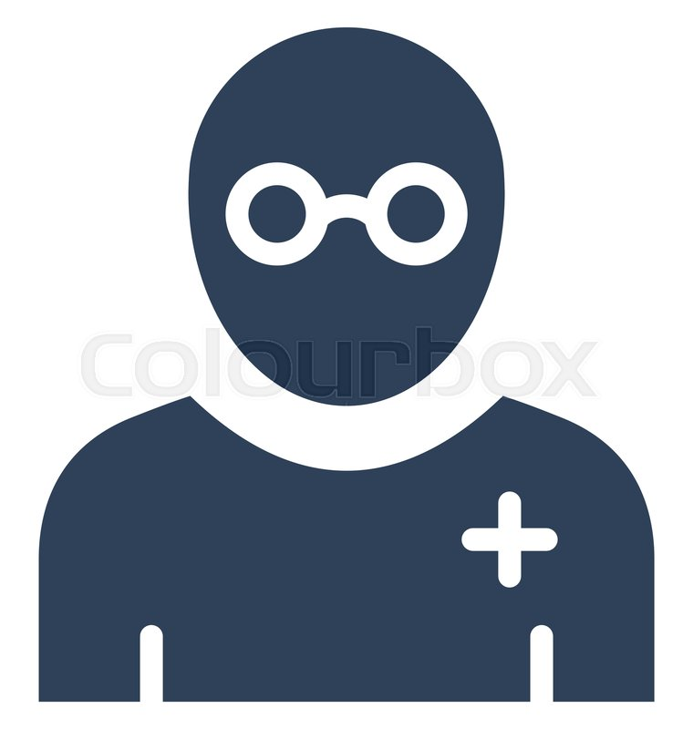 hacker vector icon which can easily stock vector colourbox colourbox
