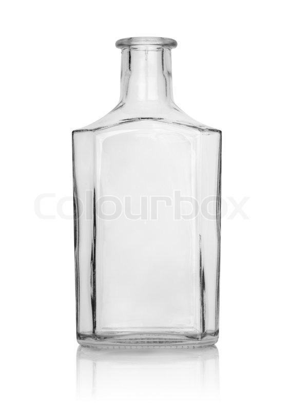 Empty bottle of whisky | Stock Photo | Colourbox