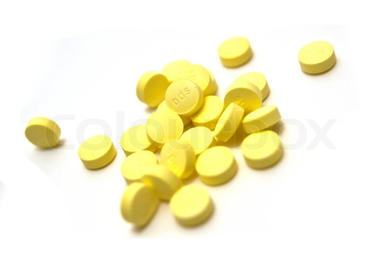 round yellow winstrol tablets