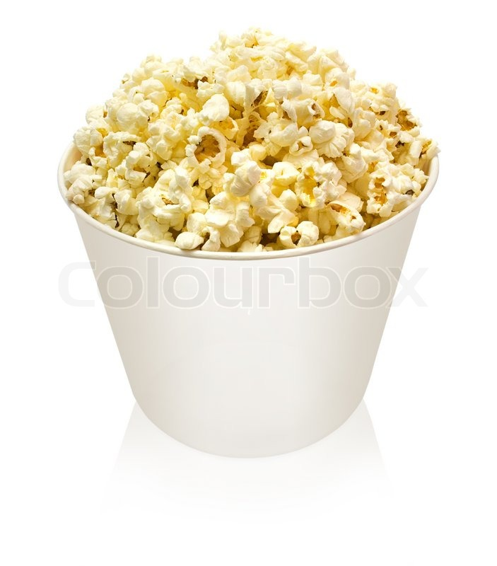 Stock image of 'Popcorn'