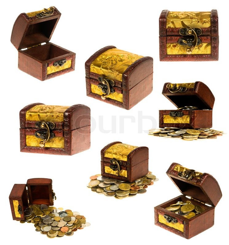 Treasure chest | Stock Photo | Colourbox